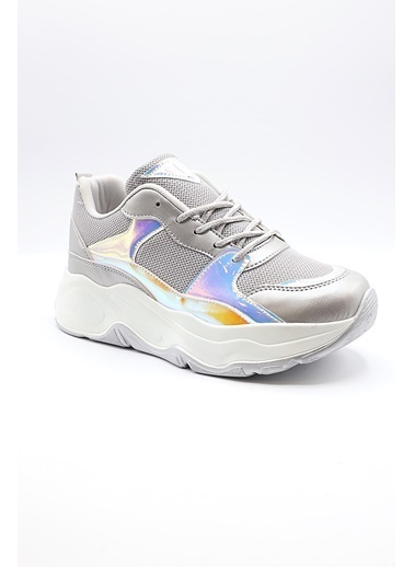 La scada Pıerre Cardın Pc-30061 Grı Kadın Spor Ayakkabı Gri